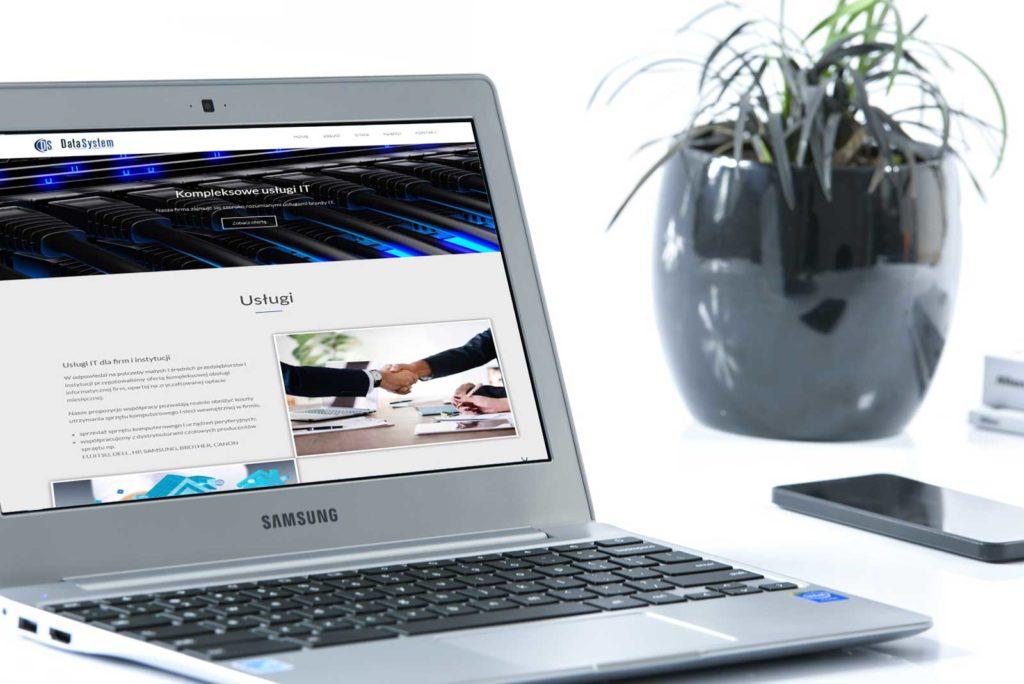 data-system strona www