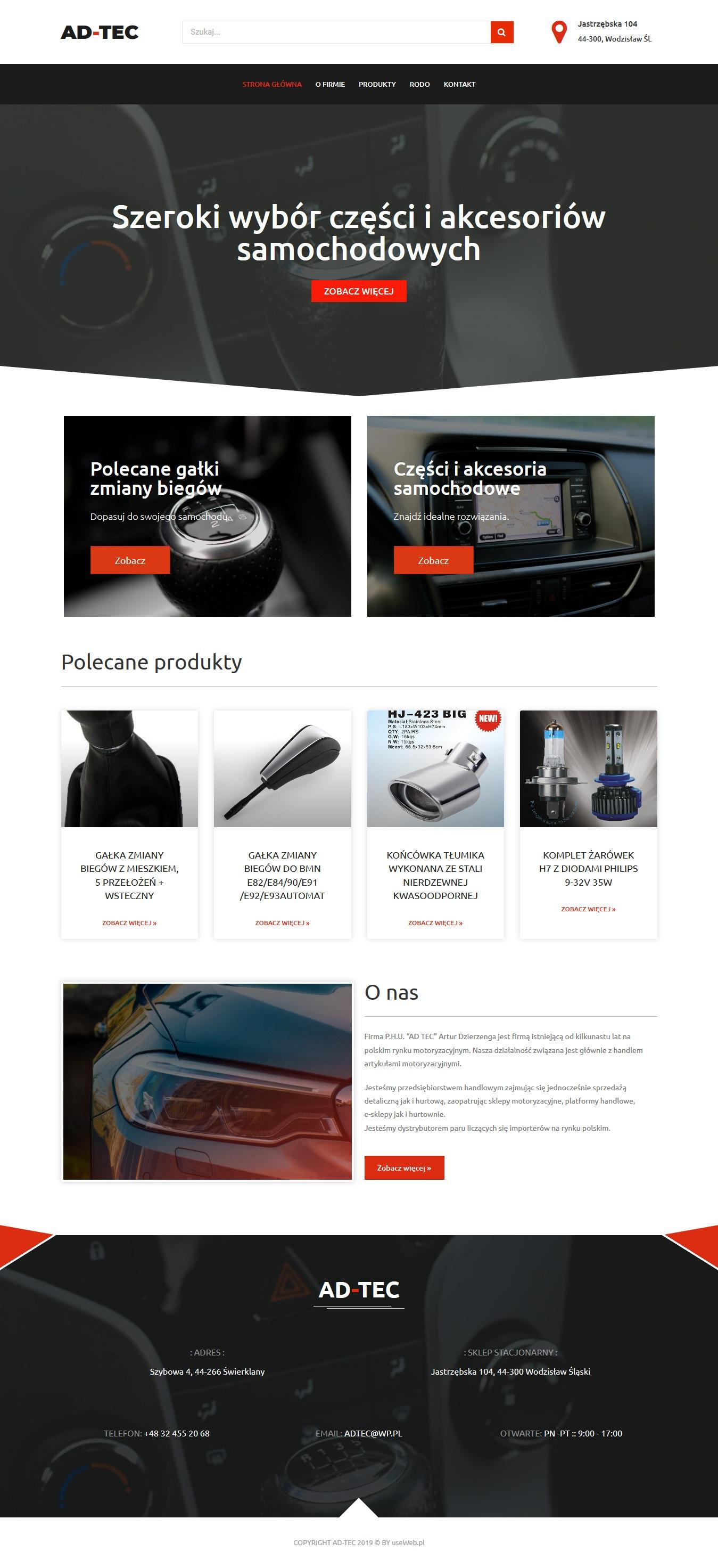 strona www ad-tec