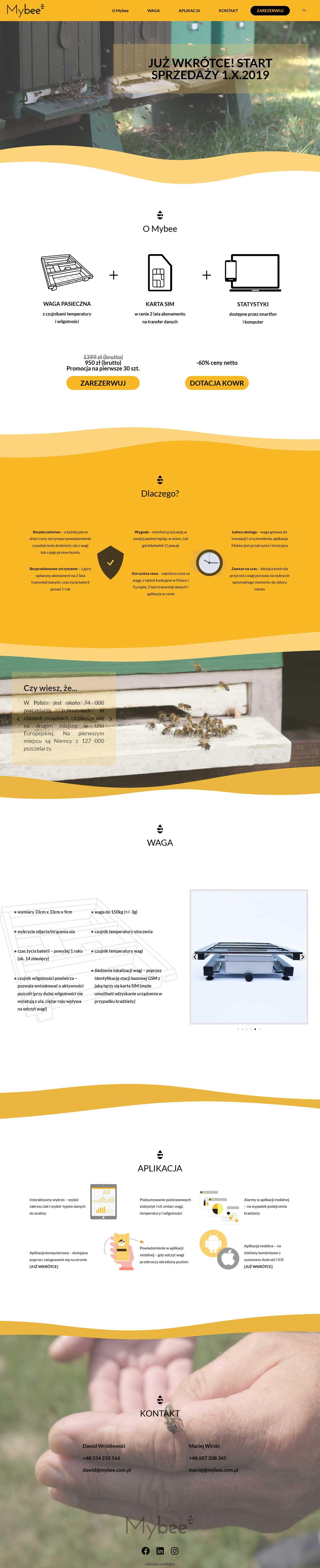 mybee strona internetowa