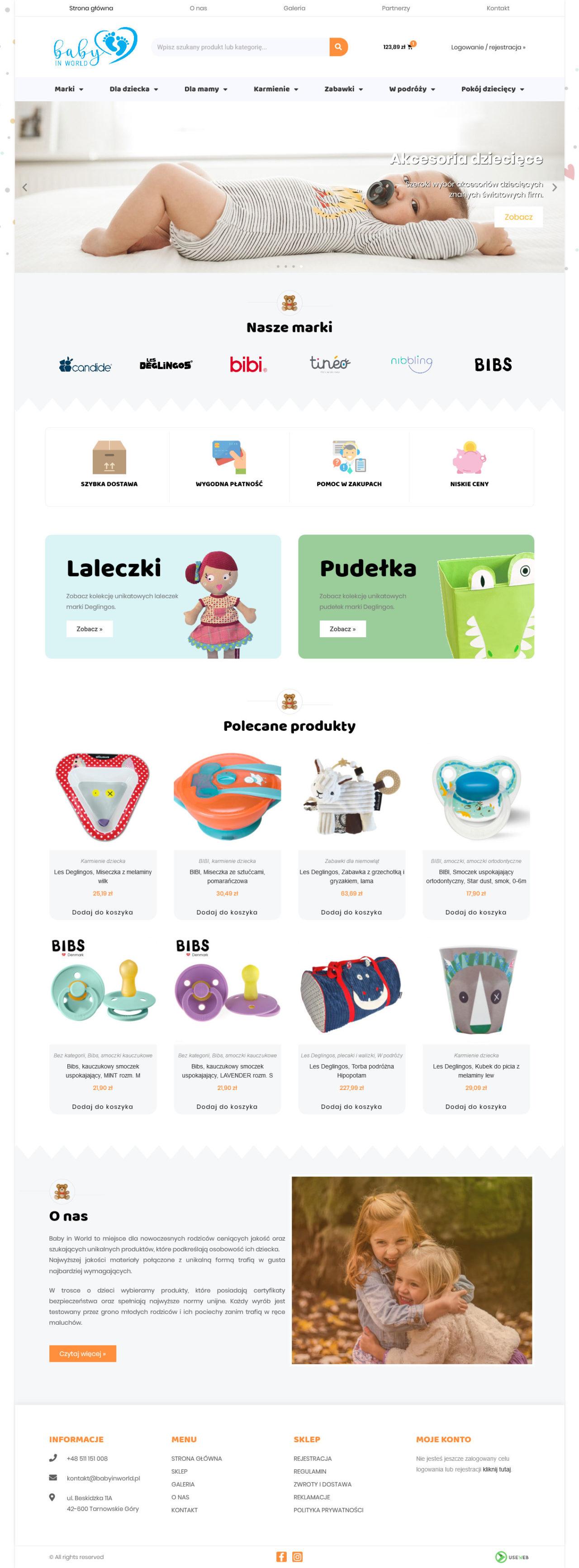 sklep internetowy baby in world