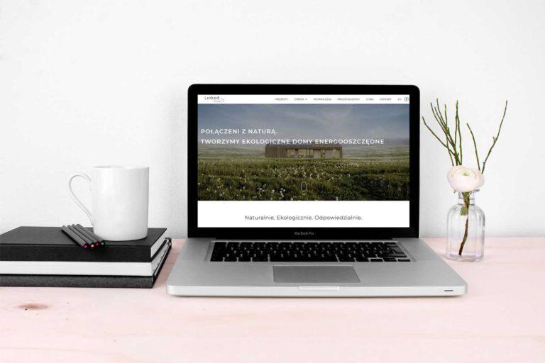 strona internetowa linked house