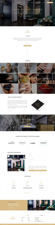 GlamourDaySpa-portfolio-useweb-tworzenie-stron-internetowych-ruda-slaska